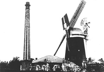 Loddon Chapman's smockmill c.1885