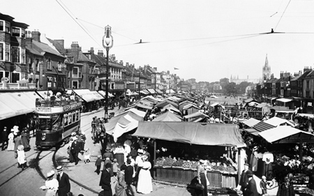 Great Yarmouth, Market Place 1908. (Neg. 60651) © Copyright The Francis Frith Collection 2008. http://www.francisfrith.com