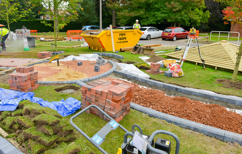 Volunteers Top Off Hospital Refurbishment With New Patient Garden Iceni Post News From The