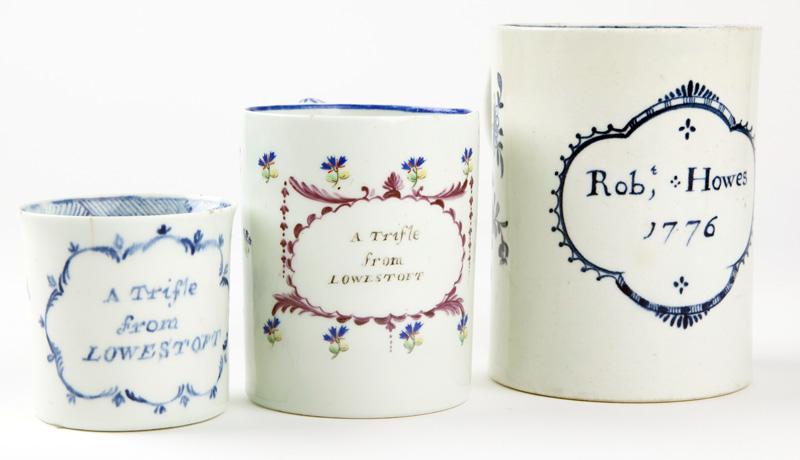 Lowestoft Porcelain Auction