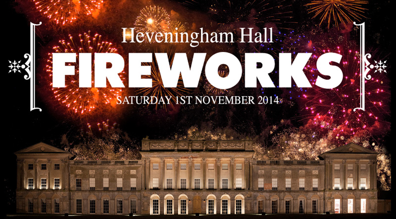 Heveningham Hall FIREWORKS DISPLAY