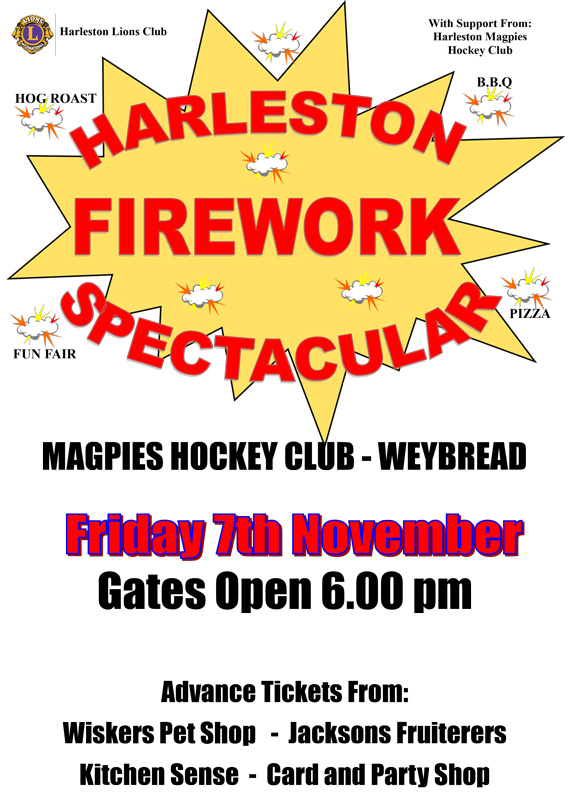 harleston firework spectacular
