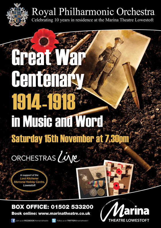 Centenary Concert in Lowestoft