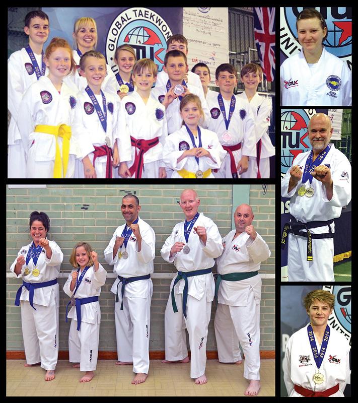 try taekwondo