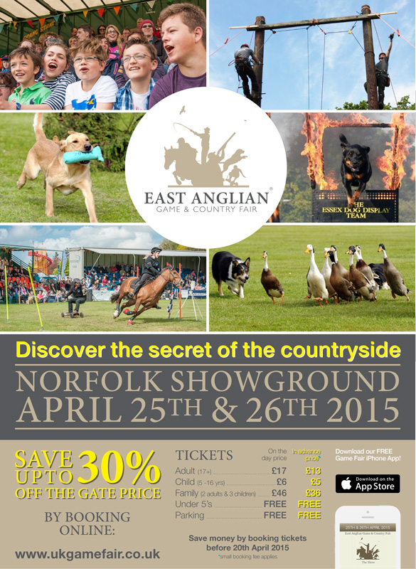 East Anglian Game and Country Fair 2015