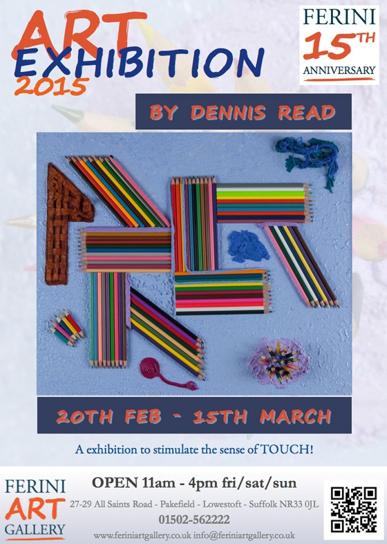 ferini exhibition Dennis Read