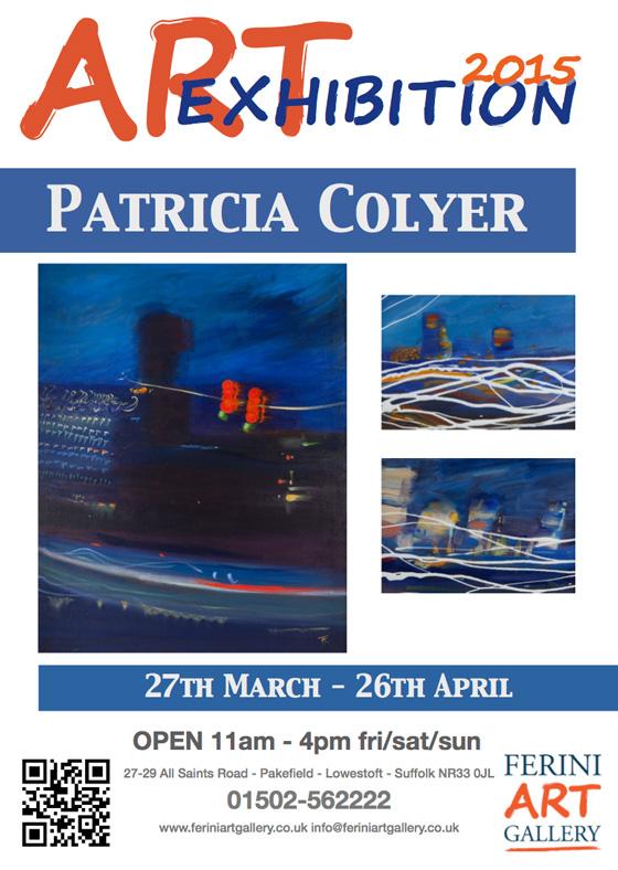 Ferini Exhibition Patricia Colyer April