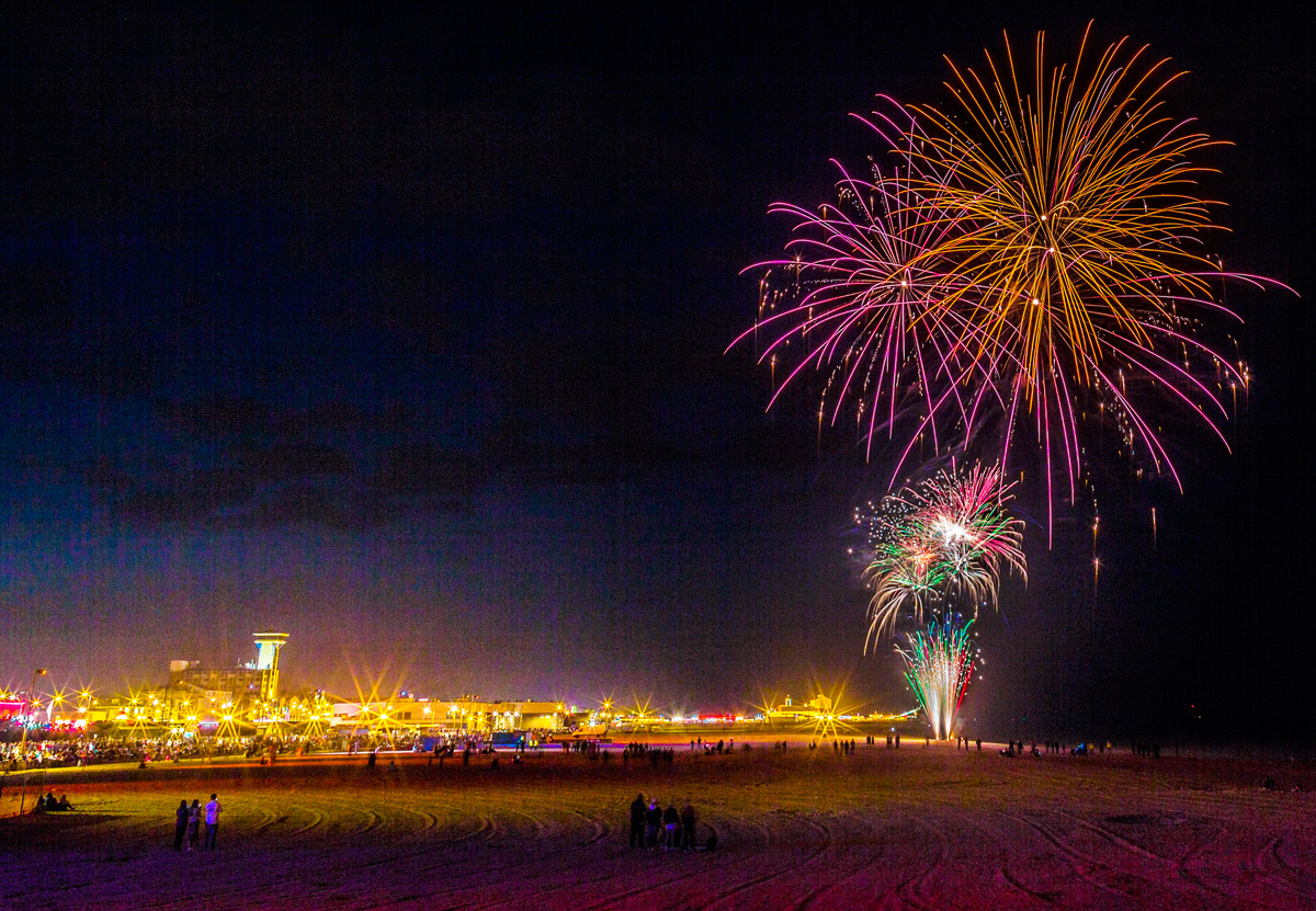 Great Yarmouth Bank Holiday Fireworks