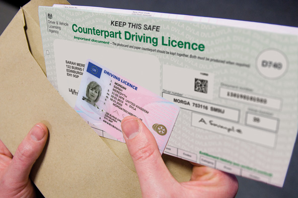 driving license record