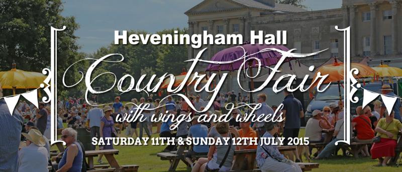 Heveningham Hall Country Fair