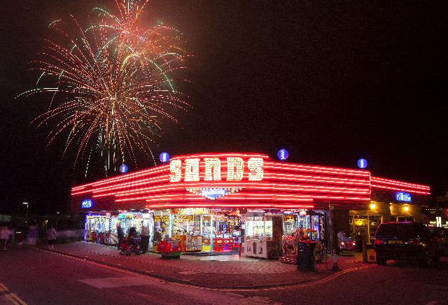 Hemsby summer Fireworks