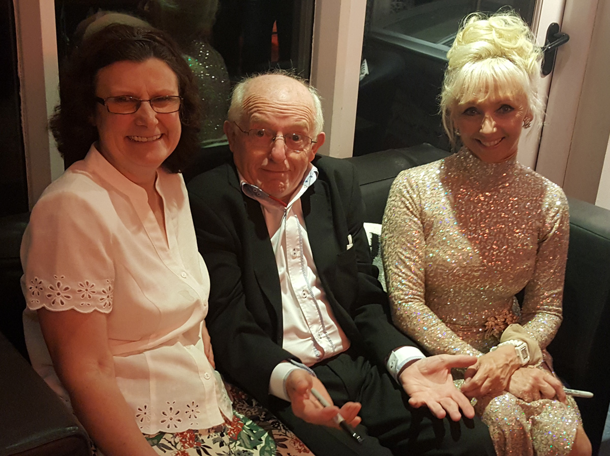 Paul Daniels and the lovely Debbie McGee
