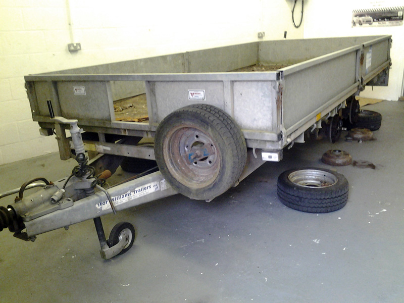 New Trailer Brake Shoes