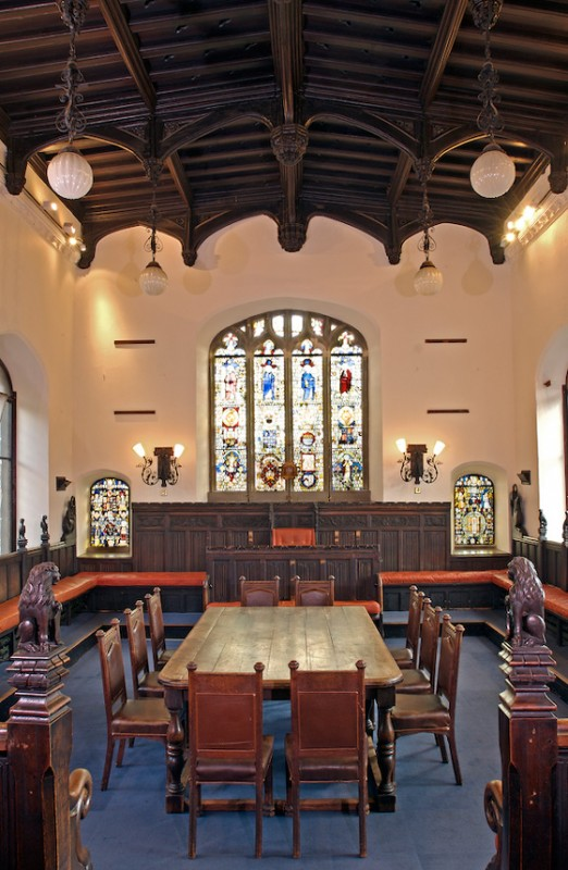 The Council Chamber at The Guildhall Norwich