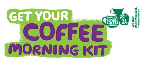 Macmillan Coffee Morning Kit