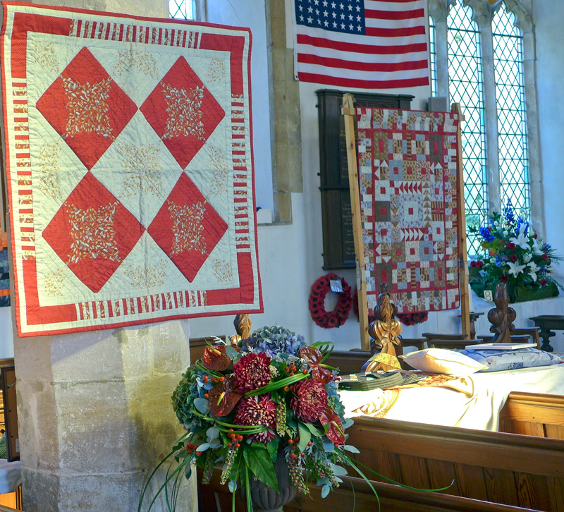 Carleton Rode Festival of Flowers and Quilts Past and Present