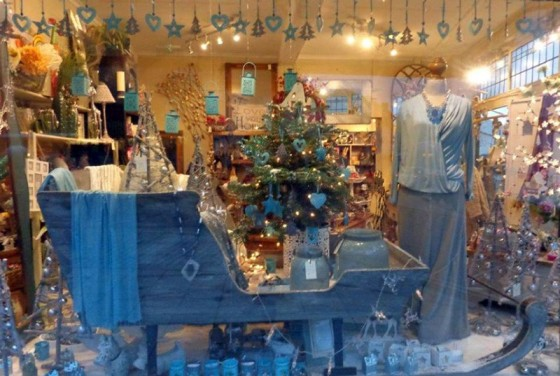 The Marmalade Tree Christmas Window Display