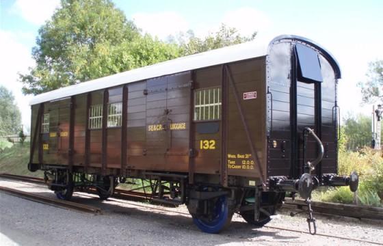 Edith Cavell railway carriage