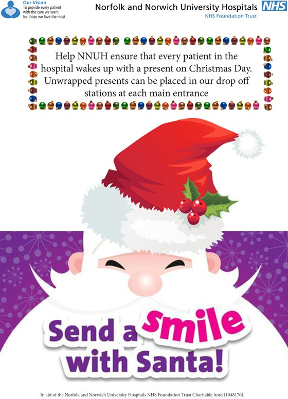 Send a smile with Santa: over 900 donated gifts required for Christmas