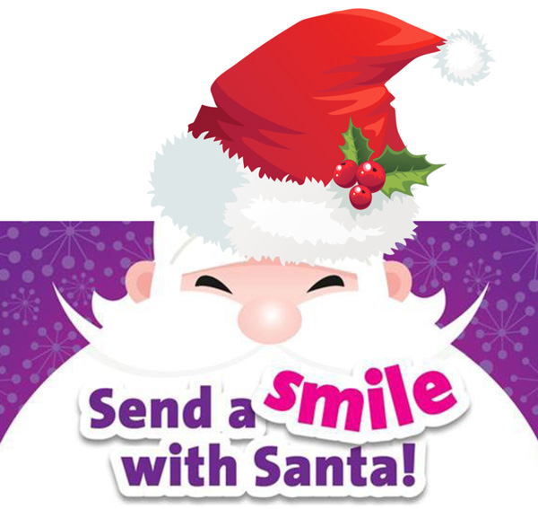 Send a smile with Santa: NNUH NHS Charity is calling on local people and businesses to donate 900 gifts so that every patient wakes up to a present from Santa this Christmas