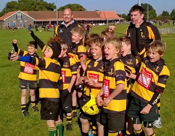 Southwold U9s win Woodbridge Festival
