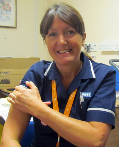 With the flu season upon us once again, staff from Norfolk's Community NHS Trust are in full swing getting their flu vaccinations