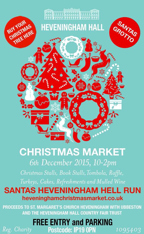 Heveningham Hall Christmas market 2015