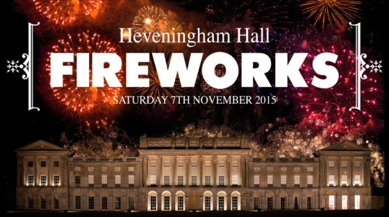 Heveningham Hall FIREWORKS 2015