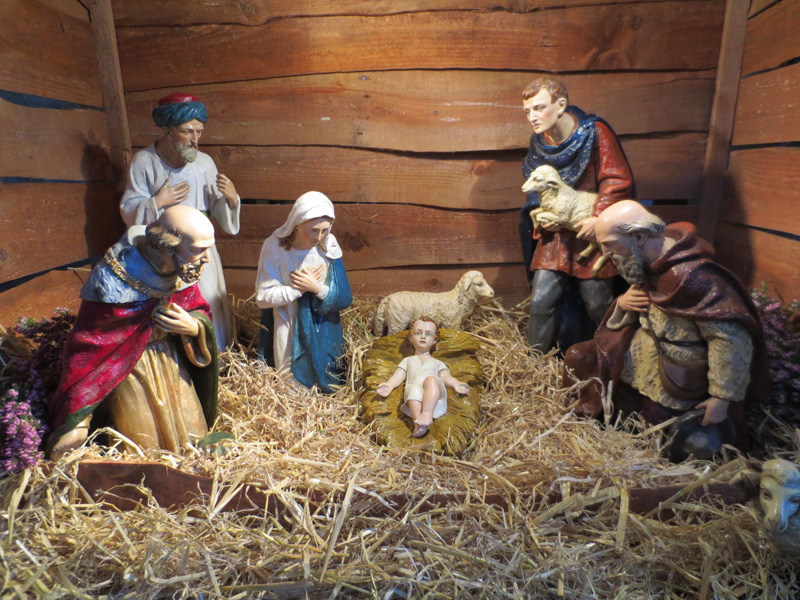 Wymondham Abbey Crib