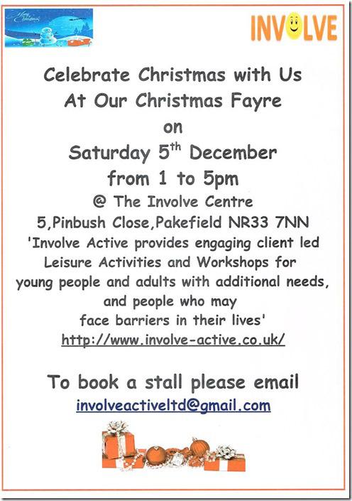 INVOLVE Christmas Fayre
