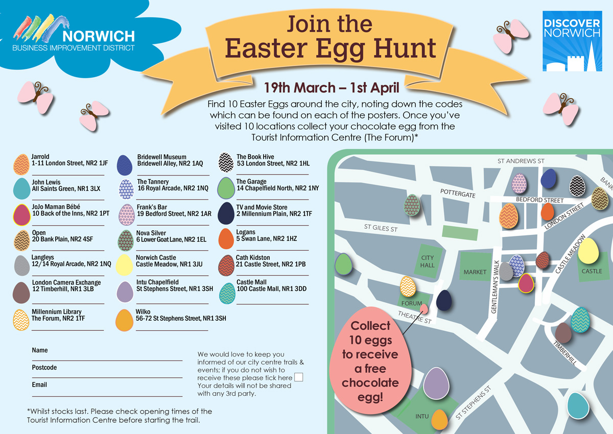 Norwich Easter Egg Trail