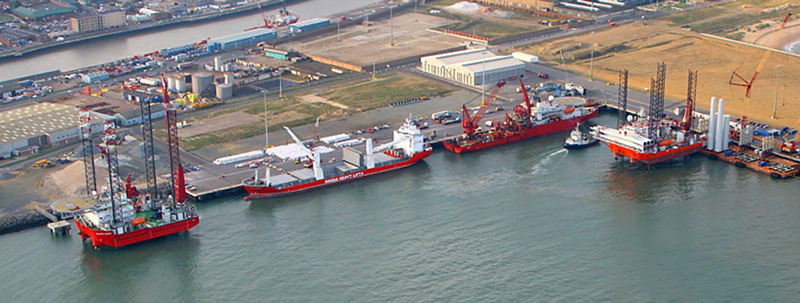 Galloper Offshore Windfarm Peel Ports Great Yarmouth