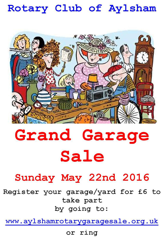 Aylsham Rotary Club Grand Garage Sale