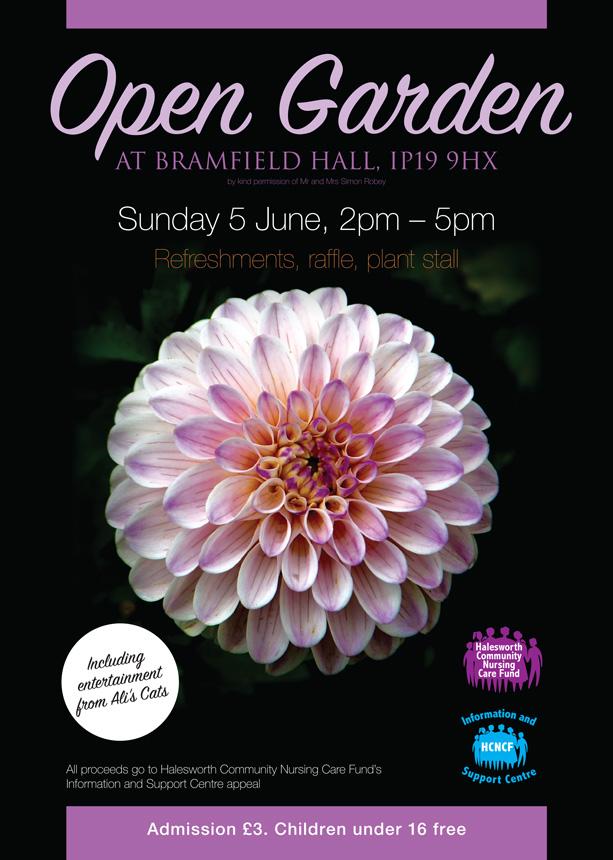 Bramfield Hall Open Gardens