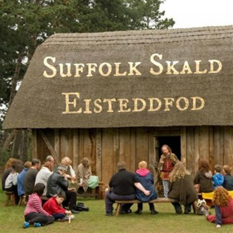 Suffolk Skald at West Stow Anglo Saxon Village
