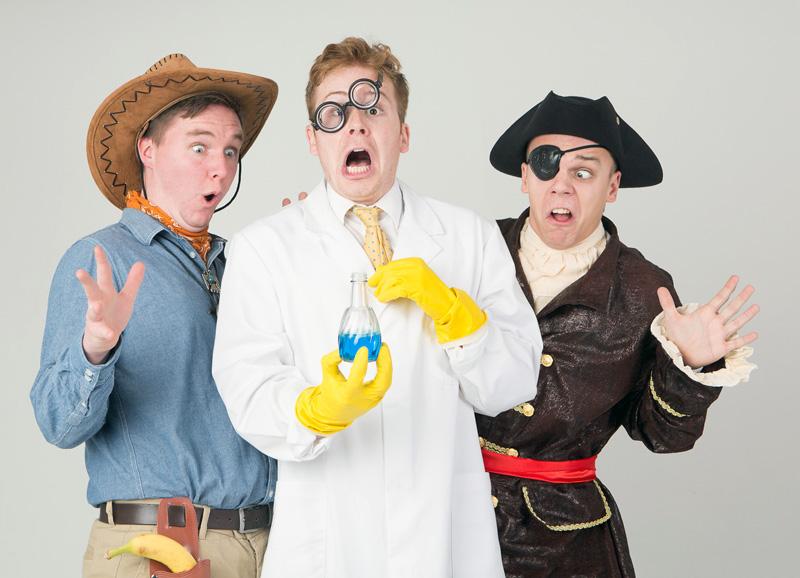 The Three Half Pints Bad Guys