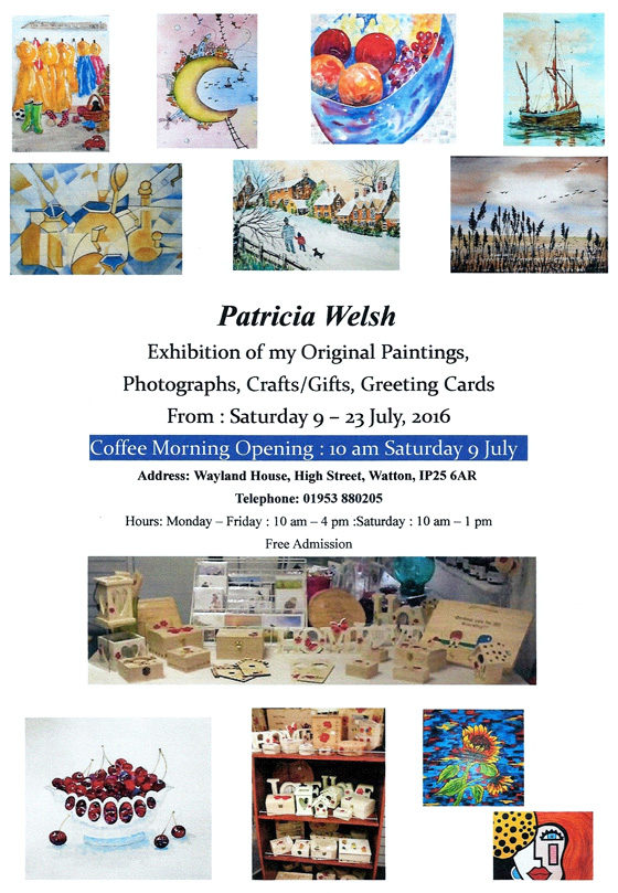 Patricia Welsh Exhibition