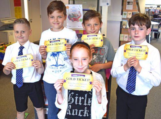 Suffolk Libraries Gold Ticket