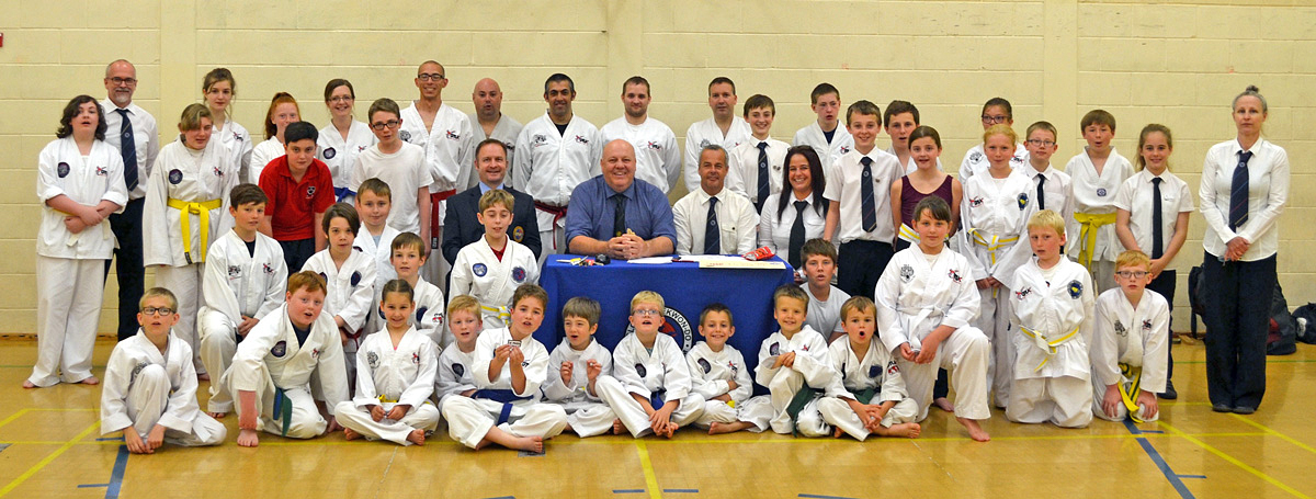 Beccles Taekwon-do Students