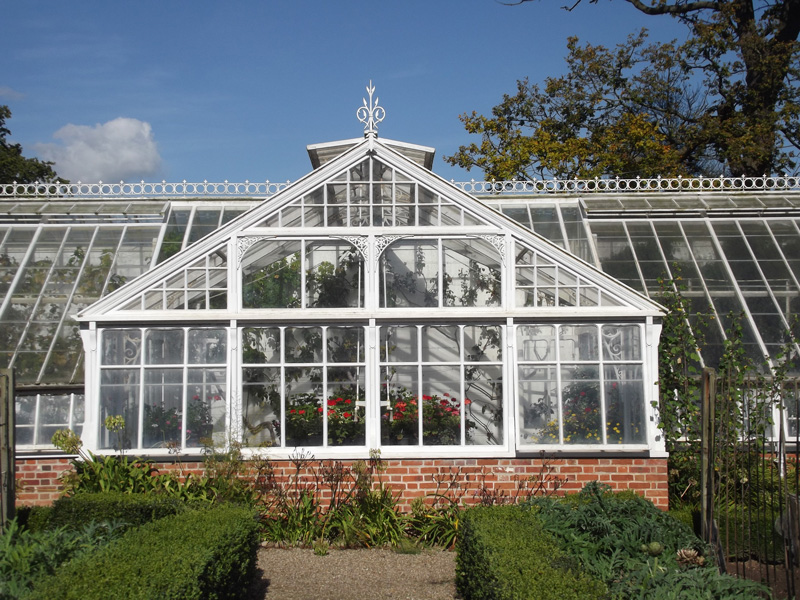 Raveningham Walled Garden Glasshouse