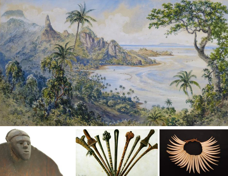 Fiji Artworks and Life in the Pacific