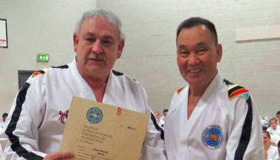 Taekwondo Grandmaster