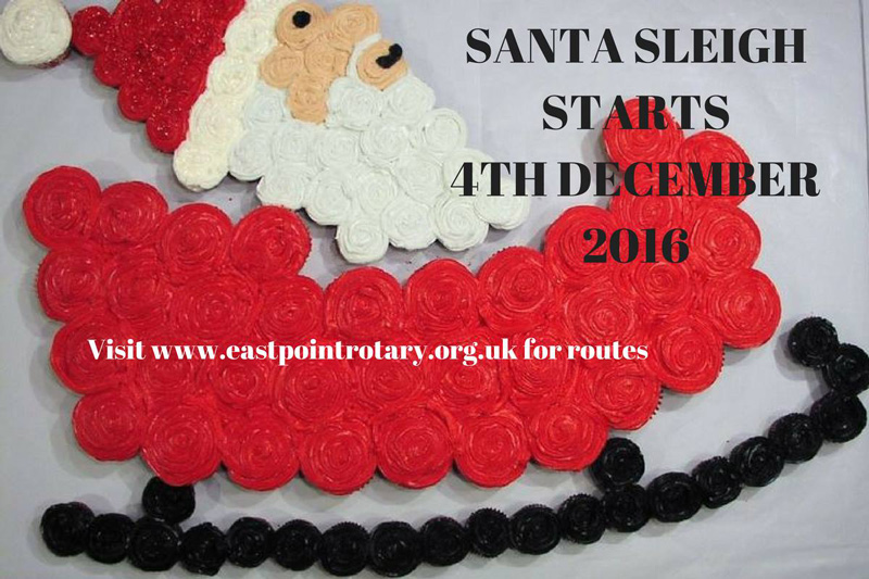 Lowestoft Santa Sleigh 2016