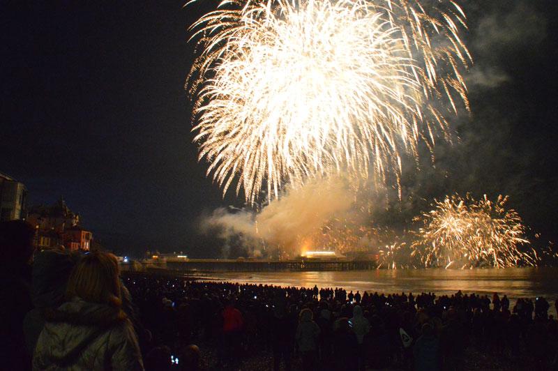 Cromer fireworks