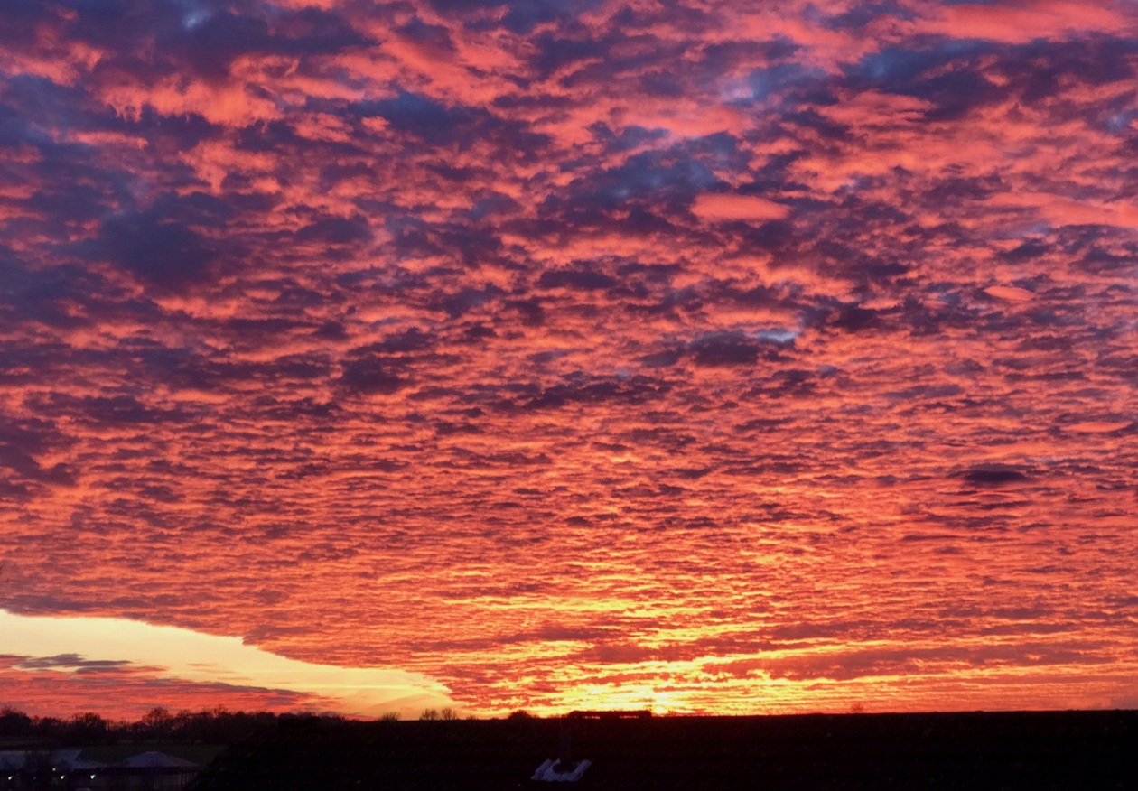 Iceni sunset
