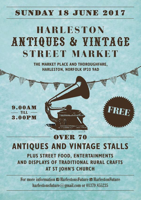 Harleston Antiques market