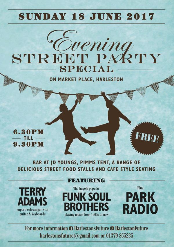 Harleston Evening Street Party