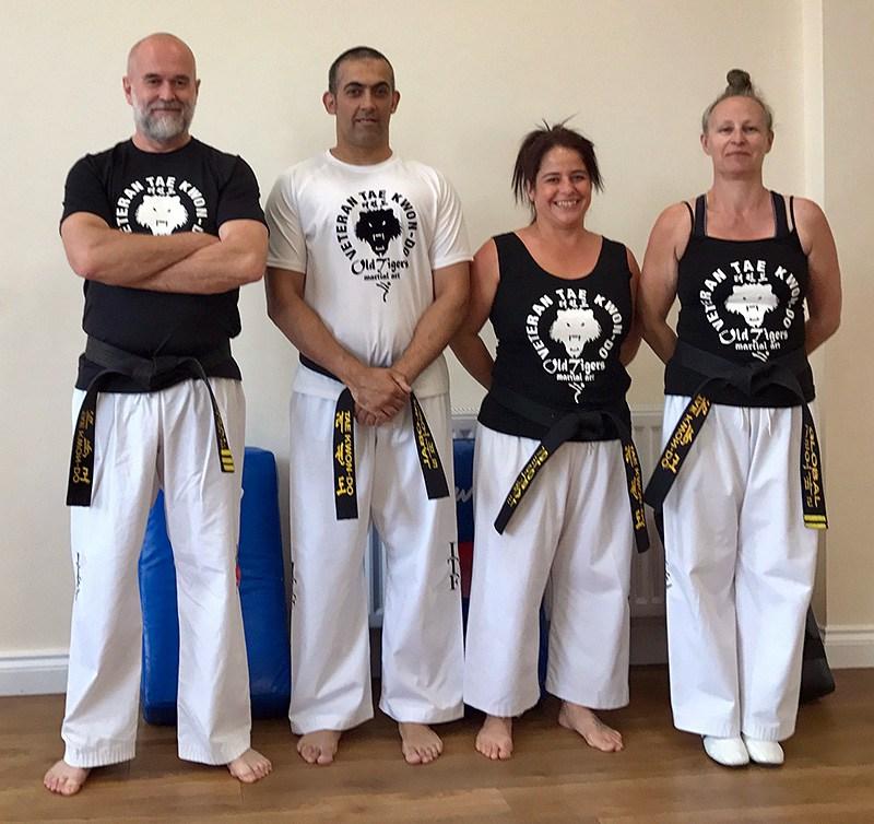 veteran taekwondo