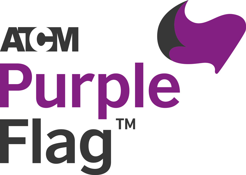 norwich purple flag