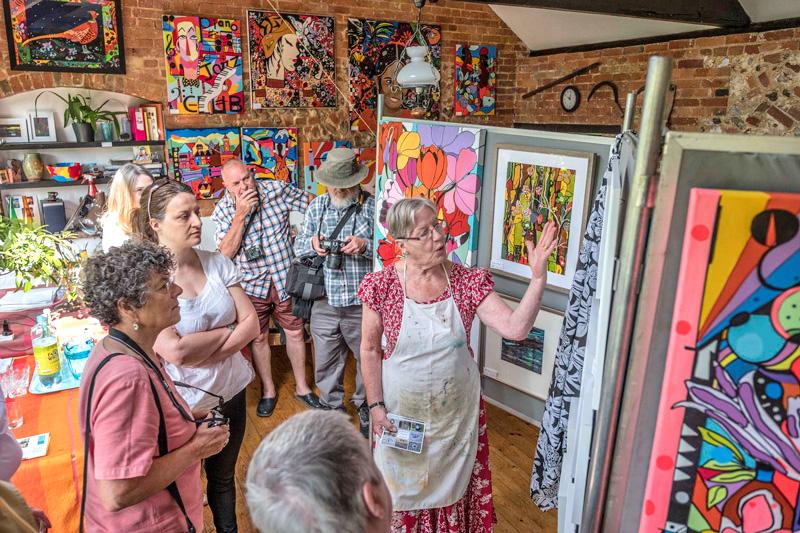 Calling all Norfolk artists Be part of Norfolk & Norwich Open Studios 2018